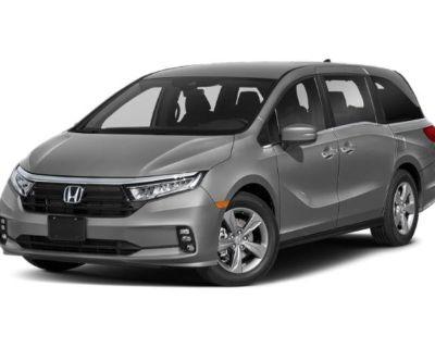 Pre-Owned 2022 Honda Odyssey EX-L FWD Mini-van, Passenger