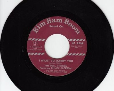 DELL-VIKINGS ~ I Want To Marry You*Mint-45 !