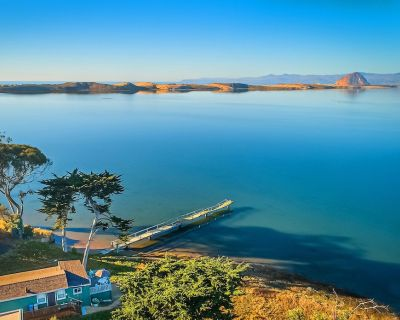 The GREEN COTTAGE, a Romantic Waterfront Get-Away for Two, on Morro Bay - Baywood-Los Osos