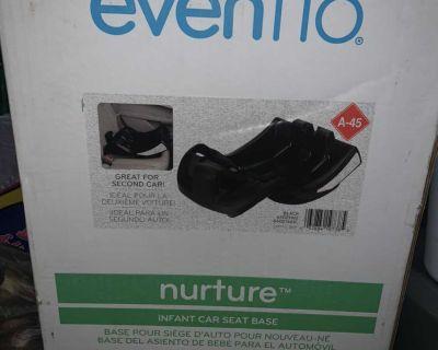New Evenflo Car Seat Base