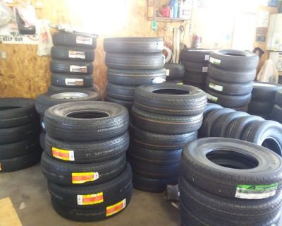 New 10-Ply Commercial Trailer Tires