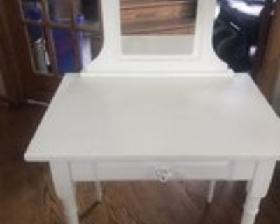 make up desk for kids with mirror