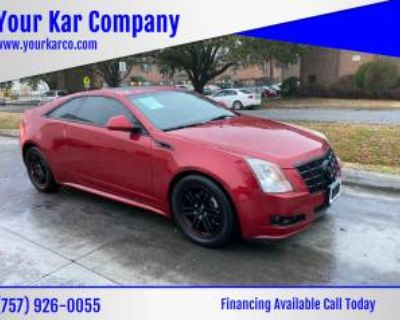 2013 Cadillac CTS Performance Coupe 3.6 AWD