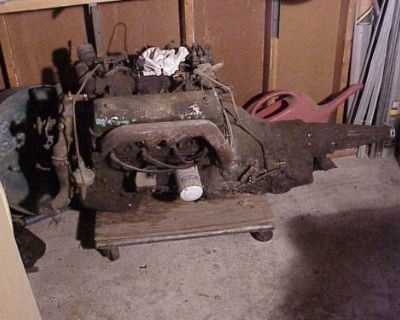 1959 Edsel Ranger 292 Y Block Engine Motor & Automatic Transmission