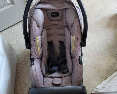Even Flo Safe Max Carseat & Base