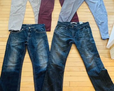 Men s size 34 jeans all for $20