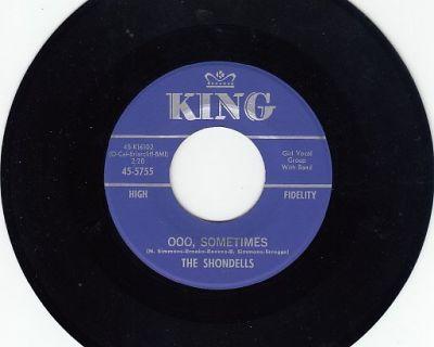 SHONDELLS ~ Ooo Sometimes*Mint-45 !