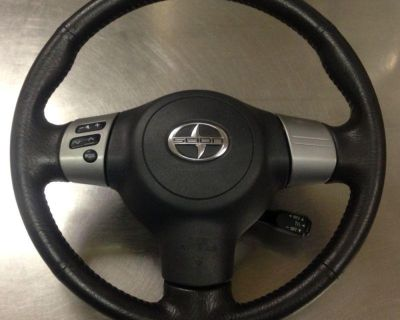 Toyota Scion Tc Xa Driver Airbags Airbag 04 05 06 07 08 09 With Steering Wheel