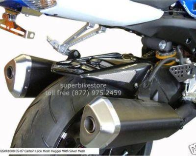 Suzuki Gsxr 1000 2005 - 2008 Rear Tire Hugger Black - Made In England