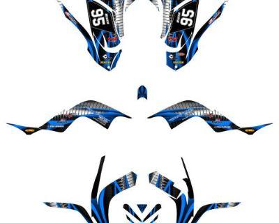 Yamaha Raptor 700 Graphics 2006-12 Full Coverage No1900 Blue Free Custom Service