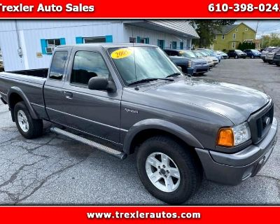 Used 2005 Ford Ranger XL SuperCab 4WD
