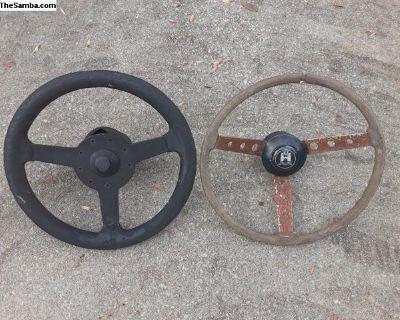 Neat VW Steeringwheels For Parts/Restore