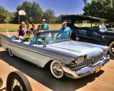 59 Plymouth Sport Fury Convertible