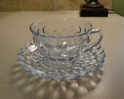 Anchor Hocking cup and saucers