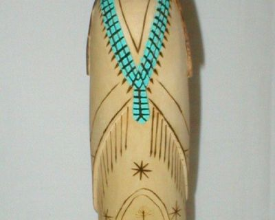 Hand Carved Signed Kachina Doll - Rick Jeanso