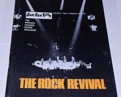 BIM BAM BOOM ~ Magazine #10 Rock Revival !