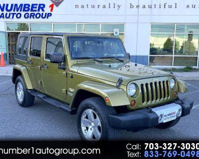 Used 2008 Jeep Wrangler Unlimited Sahara 4WD