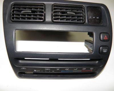 Toyota Corolla 4 Door Center Radio Panel 93,94,95,96,97 If It Has Pass. Airbag