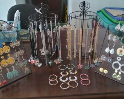 New Fun Colorful Necklaces and Earrings