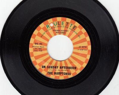 HARPTONES ~ On Sunday Afternoon*M-45 !