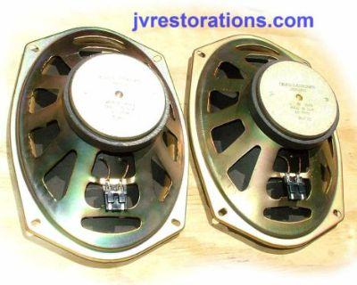 1970 71 72 73 74 Camaro Chevelle Nova Gto Delco 10 Ohm 6x9 Gm Speakers Refurbish