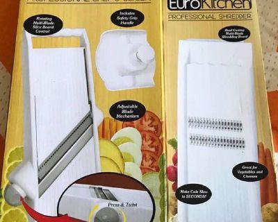 Euro Kitchen Slicer and Shredder
