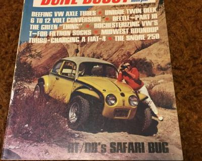 Road Test Dune Buggy The Off-road Guide Jan 1971