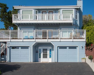 Beautifully Updated Cambria Home with 3 Balconies & Lush Patio - Near Beach - Lodge Hill