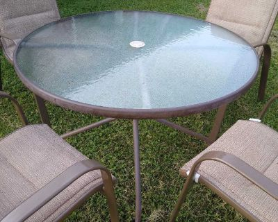 Patio Porch Table with Chairs