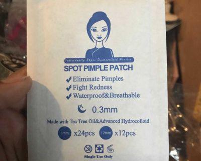 Pimple Patch Treatment