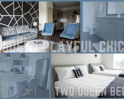 Modern Chic Condo-Two Queen Beds-Stone Mountain Hiking - Northlake