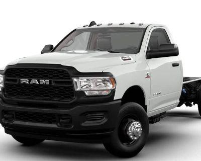 "NEW 2021 RAM 3500 TRADESMAN CHASSIS REGULAR CAB 4X2 84"" CA"