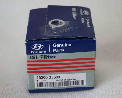 (10 Pack) Kia Hyundai Oem Factory Oil Filter 26300 35503