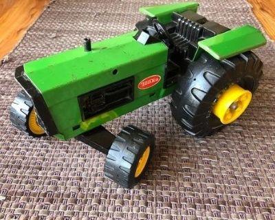 Vintage Tonka John Deere Tractor Toy