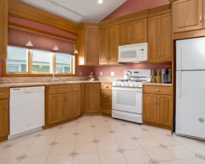 Airy and Beautiful Kitchen with Skylights, Revere, MA