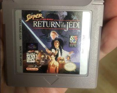 Super Star Wars: Return of the Jedi Nintendo Game Boy 1995