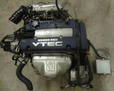 Jdm Accord Prelude F20b Engine Sir Dohc Vtec Blue Top Engine H23a H22a Accord