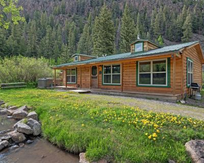 New listing! Creekside cottage w/ forrest views, gas grill & picnic table - South Fork