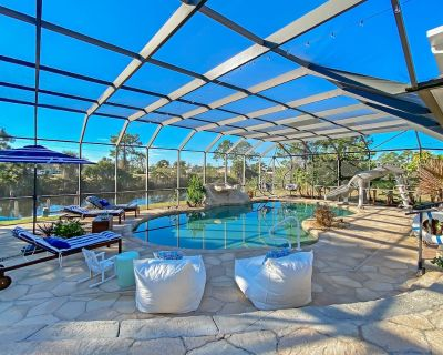 Endless Summer Tropical Oasis with Private Resort Style Heated Salt Water Pool - Burnt Store