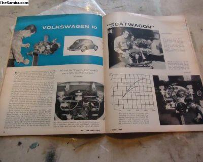 okrassa scatwagon 1950's hot rod magazine