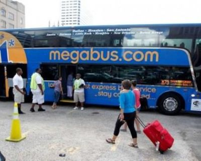 Megabus Ticket from Chicago, IL to Dallas/Fort Worth, TX