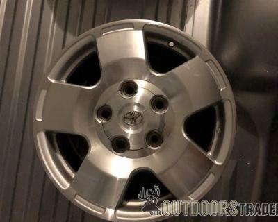FS 18 inch aluminum wheels Toyota OEM