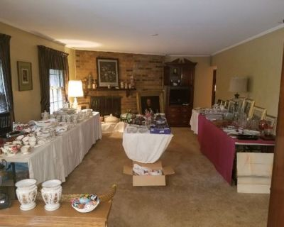 Estate Sale in Cedarburg filled with Antique Furnishings and Collectibles by MMES