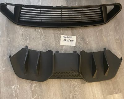 MMD GRILLE & rear valance