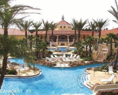 Disney and Universal Studios Area Waterpark Resort & Spa Upgraded Townhome - Davenport