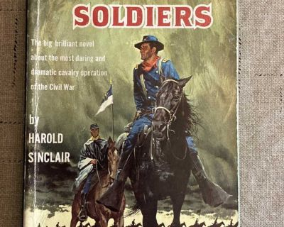 The Horse Soldiers by Harold Sinclair Paperback