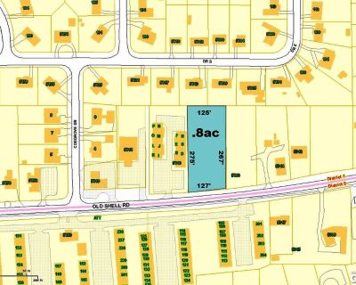 .8 AC Old Shell Rd in Springhill