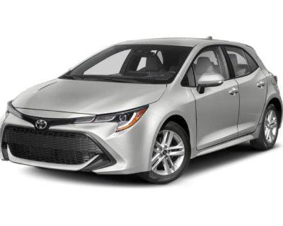 New 2022 Toyota Corolla Hatchback SE FWD Hatchback