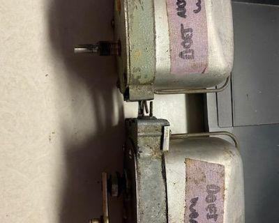 TWO Non Working 6V SWF Wiper Motors