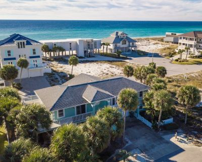 Spacious Home with Gulf Views & Ping Pong Table & Foosball Table - Pensacola Beach